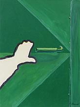 Roger Raveel (1921-2013), De Groene Poort, oil on canvas