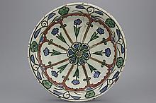 An Iznik ornamental plate, ca. 1620
