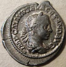 Roman Denarius, Severus Alexander ( 222-235 AD )