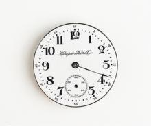 1916 Hampden McKinley  Pocket Watch Works
