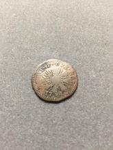 1731 Charles IV 1 Soldo Italian Copper Coin