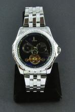 Men's Stainless Steel Automatic Wristwatch