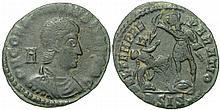 Ancient Roman Constantius Gallus, Ceasar Coin