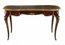 Louis XV-style Gilt Bronze Mounted Kingwood Table
