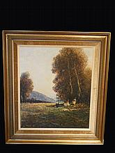 Oil On Canvas By JOSEF KLARL 1909-1986