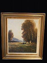 Oil On Canvas By JOSEF KLARL 1909-1986