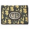 Vintage Christian Dior Trotter Pattern Card Case