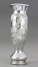 Small Trench Art Vase depicting Bird of Peace