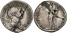 Ancient Roman Trajan Coin