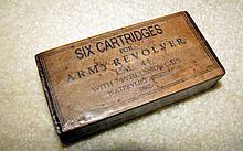 Reproduction Cartridge Ammo Box Civil War era.