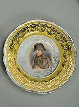 Two Victoria Austria Plates of Napoleon