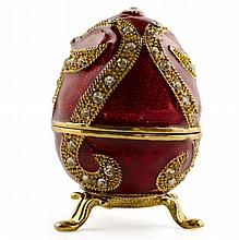 Ligne D'or Faberge Inspired Egg