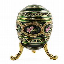 Gerbera Fleur Faberge Inspired Egg