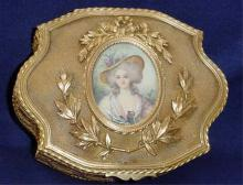 French Miniature Signed Dore Jewel Box