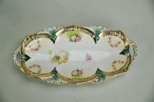 Late 19th Century R.S. Prussia Oval Relish Tray