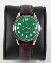 Authentic HMT Stainless Steel Military Lume Watch