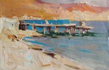 Anna Gusavrova Untitled Impressionist Landscape