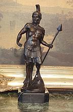 Regal Bronze Sculpture Spartacus