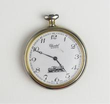 Chantel Swiss Made Quartz Train Pocket Watch