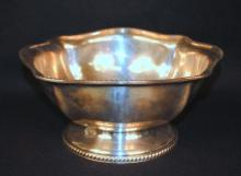 Reed & Barton US Navy Silver Plate Punch Bowl