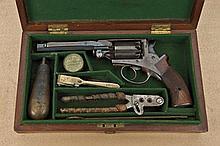 Civil War Adams patent percussion Navy Revolver