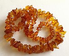 Old Baltic Amber Necklace