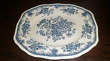 Kensington Staffordshire Ironstone Platter