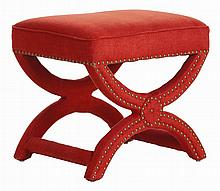 Red Tennyson Stool