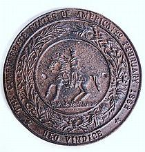 Confederate State of America Seal Plaque