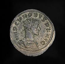 Ancient silver Roman Coin of Emperor Probus