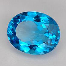 10.45ct Swiss Blue Topaz