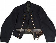 Original Reg. CW Navy Officer's Jacket & Belt