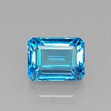 9.68ct Swiss Blue Topaz~ size 12.47 x 9.49 x 7.55