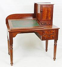 Mahogany Veneer Railroad Desk