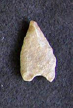 Sahara Neolithic point, measures approx 2 inches