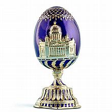 Cathedral Faberge Inspired Egg