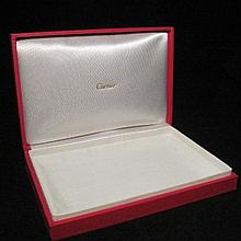 Cartier Jewelry Presentation Large Red Box Case