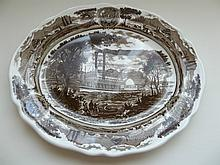 J & G Meakin Royal Staffordshire Platter