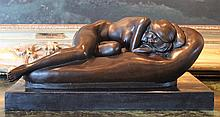 Slumbering Nude Lady
