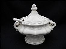 Vintage Ornate Small Tureen, Italian
