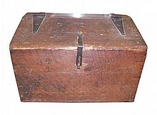 Wooden Civil War-era Trunk, Foot Locker.