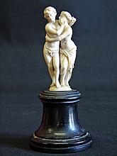 Superb Early 19th Century Carved Ivory Statue