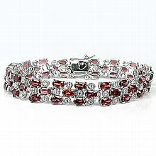 83.73 Ct. NATURAL MOZAMBIQUE GARNET BRACELET