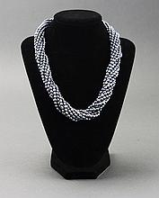Lovely 8 Strand Tahitian Pearl Necklace