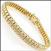 Yellow Gold, Diamond Bracelet