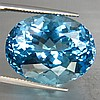 Huge 46.70ct OVAL CUT NATURAL SWISS BLUE TOPAZ