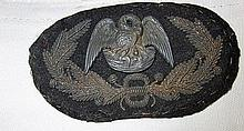 Confederate Louisiana General Officers hat insigni