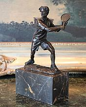 Amazing US Open Bronze Sculpture