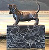 Darling Bassett Hound Bronze Sculpture