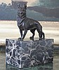 Proud German Shepherd Bronze Sculpture
